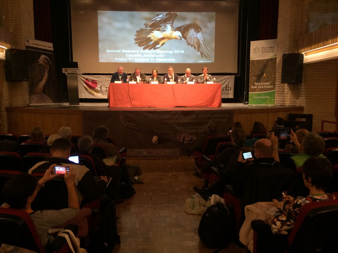 ANNUAL BEARDED VULTURE MEETING 2018
