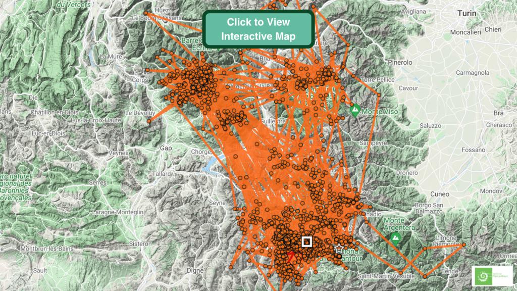 Tenao Bearded Vulture GPS Maps