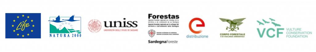 LIFE SAFE for VULTURES project partner funder logos