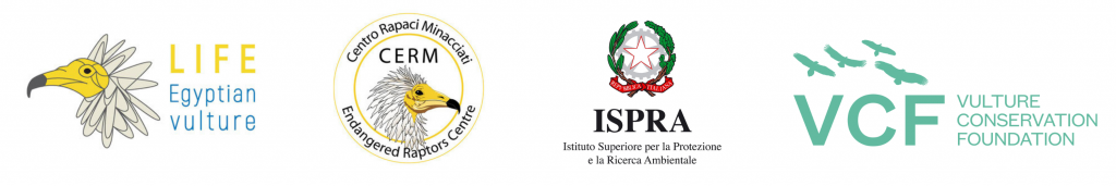 life egyptian vulture release partner logos